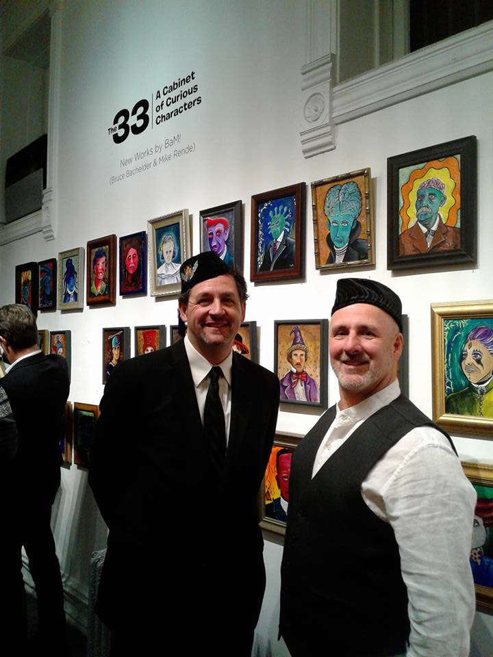 Bruce Bachelder and Mike Rende - The 33 - A Cabinet of Curious Characters