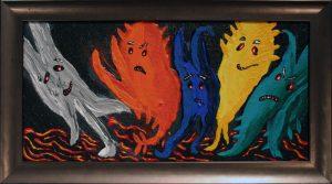 Crayon Ghosts
