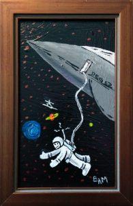 deg's spacewalk